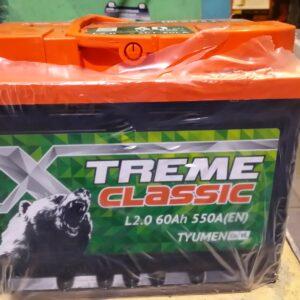 X-treme CLASSIC 6СТ-60